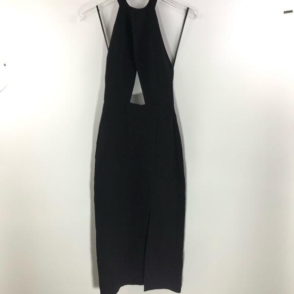 Nasty Gal Dresses & Skirts - Nasty Gal • Black halter neck Evening Dress